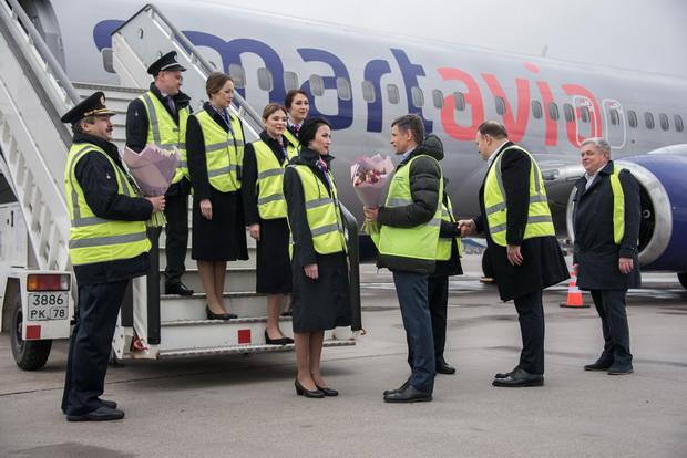 Smartavia объявила о планах развития в аэропорту Пулково