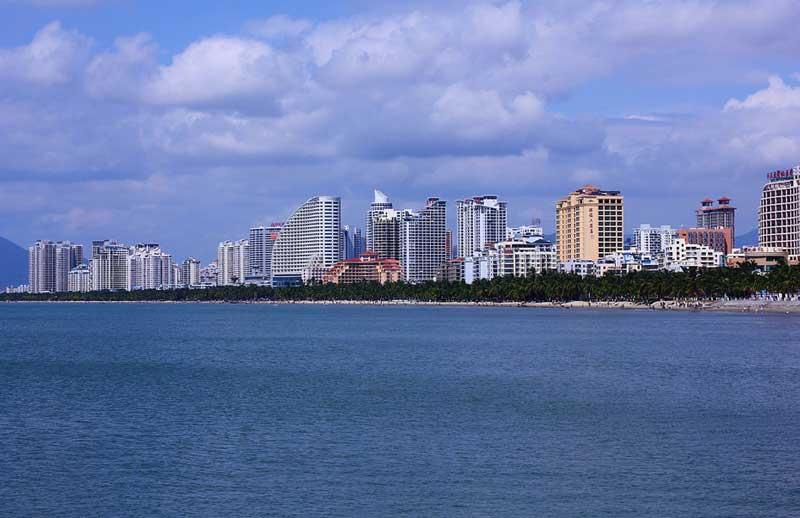 Пляжи Санья Бэй