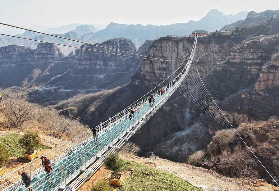 Стеклянный мост в Шицзячжуан