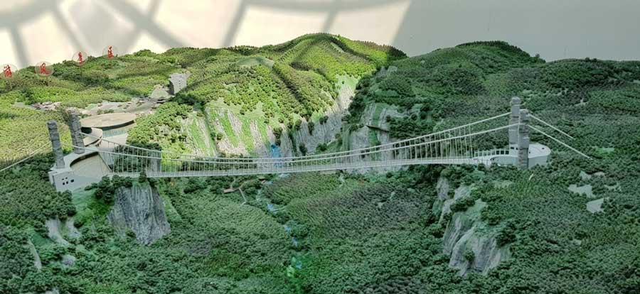 Стеклянный мост в Чжанцзяцзе Китай