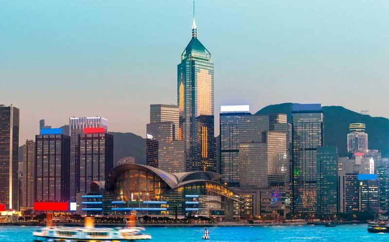 Небоскрем Сентрал Плаза Гонконг