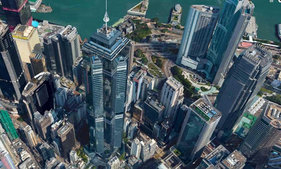 The Center Башня Гонконг