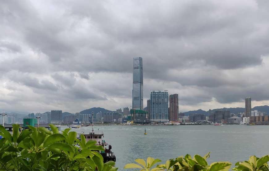 Небоскреб ICC Tower в Гонконге