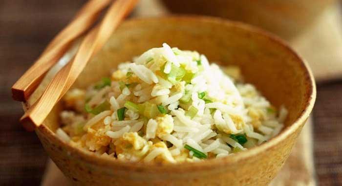 Легкий жареный рис