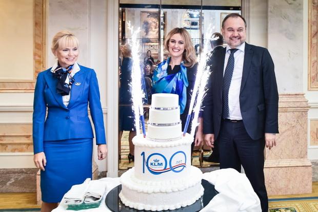 В Пулково отметили 100-летие KLM