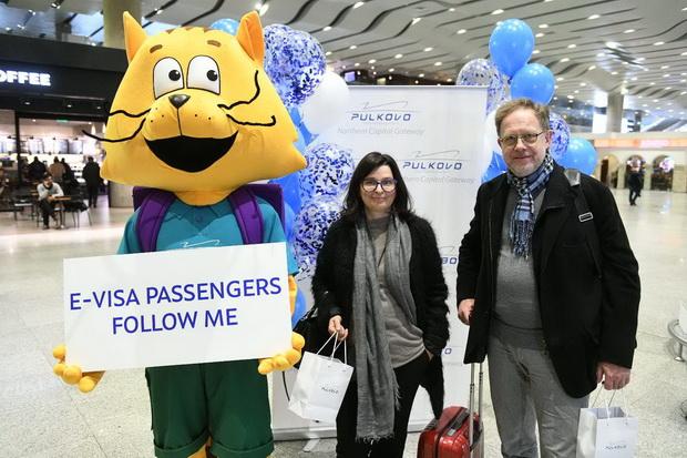 Пулково встречает первых пассажиров с электронными визами