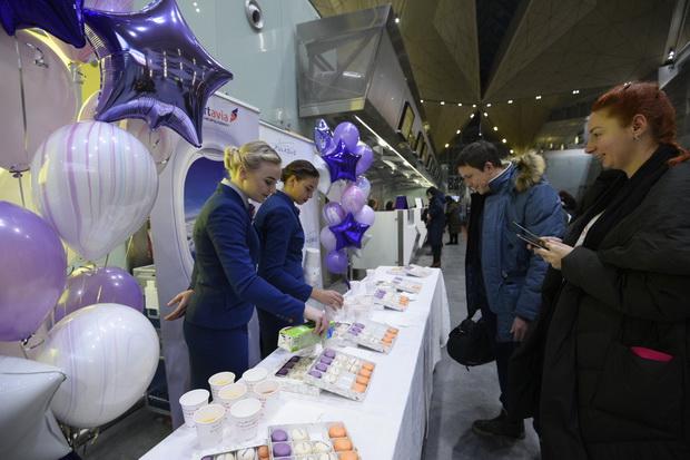 В Пулково отметили 90-летие Smartavia
